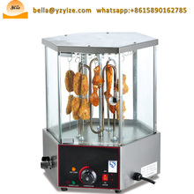 Restaurant Widely Used Grilled Corn Chicken Roaster Meat Roasting Machine for Sale