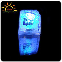 2014 New cooling water activated led lighting ice cubes for drink for party Bar ornaments Items Promotion Products Manufacturers