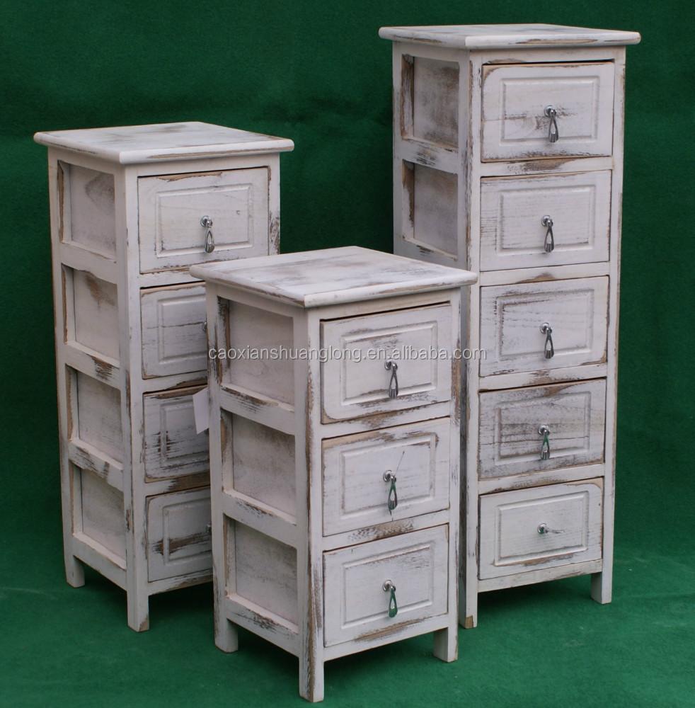 Pequenas gavetas de m veis para casa de palha de madeira for Muebles en bruto