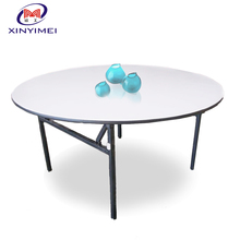 Pvc Foldable Round Party Top Dining Table
