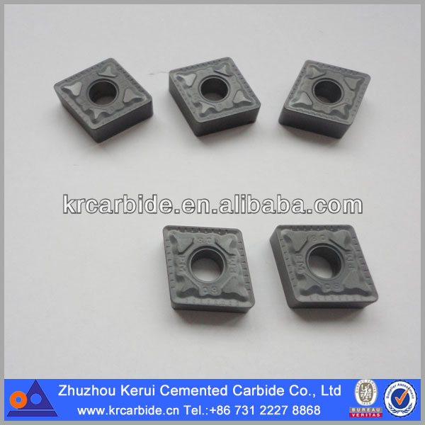 CNMG carbide turning inserts with various kind of chip-break type