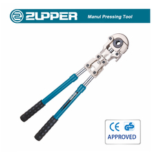 Zupper JT-1632 crimper crimping tools for stainless steel tube manual pipe clamping tool