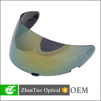 Customized motorcycle helmet lens and high quality plastic lenses