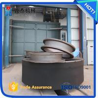 Middle and large casting parts car type shot blasting machine,sand peening equipment,surface strengthening equipment