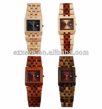 2014 men wooden watch , new trendy wooden watch water resistant silicone watch