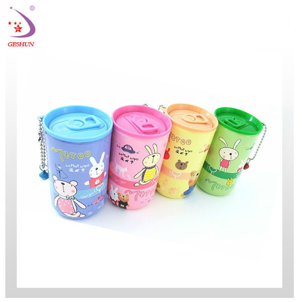 wet tissue can for drinking promotion gift