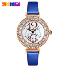 SKMEI 9158 watches women lady big number girl stylish hand watches