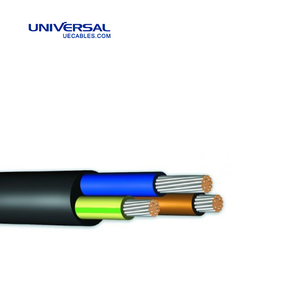 3- Core American Standard UL Industrial Cables / XHHW/XLPO Power Cable