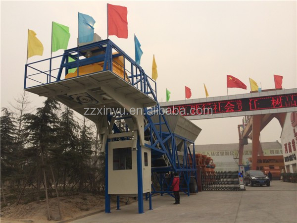 hot sale YHZS60 Mobile Type Concrete Mixing Plant