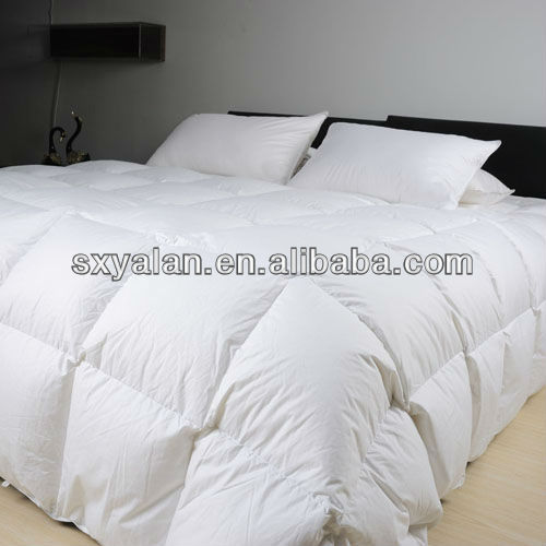 washed white duck down feather hotel quilt comforter
