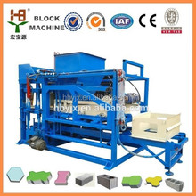 China baking free low investment QTJ4-18 fly ash concrete brick block machine with factory bottom price and promote