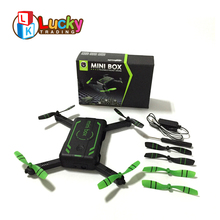 new arrival 720p hd camera wifi folding quad copter drone with height hold