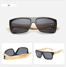 Superhot Wholesale Custom Logo Printed Lenses Cheap Wooden <strong>Bamboo</strong> Sunglasses For Women Made In Italy Wood Eyewear 152207