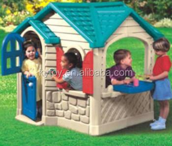 Funny kids plastic playhouse wholesale buy kids plastic for Used kids playhouse