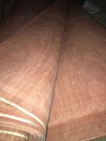 Natural Wood Veneer Veneers Type high quality natural sapelli veneer
