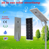 40w 3 years warranty all in one solar led street light , solar street lamp with top quality and competitive prices