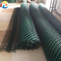powder coated used 6ft chain link fence powder coated Vinyl Chain Link Fences Practical chain link type wire mesh