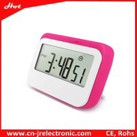 2016 New Products Large LCD Screen Alarm/Snooze Table Clock