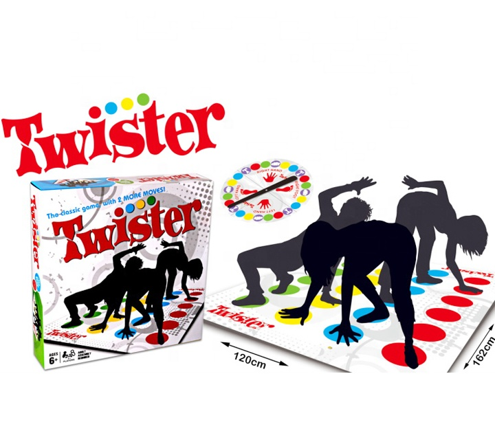OEM Available Twister Game Boys Girls Get Knotted Floor Board Game Funny Party Game