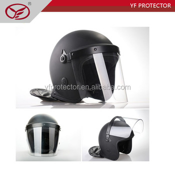 police equipment / riot helmet