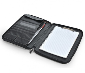 Black Oversized Leather or PU Portfolio Case for iPads and Tablets