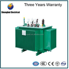 Hot Sale oil immersed power transformer drawing 100KW to 500KW