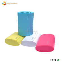 High quality rechargeable mobile phone charger 6000mah power bank