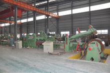 Hot Sale High Speed Cut to Length Machine for HR, CR, GI steel coils