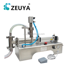 New Design Semi-Automatic piston filler mineral water filling machine CE Approved G1WY