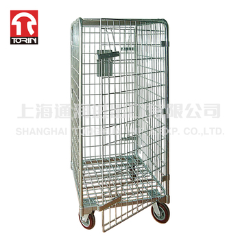Torin SWK1004 Industrial 500kg Warehouse Rolling Steel Storage Cargo Roll Cage