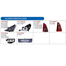 auto lamp and body parts for TOYOTA KIJANG INNOVA 2004