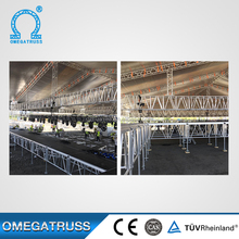 Reinforcement assembly concert stage podium / stage wedding