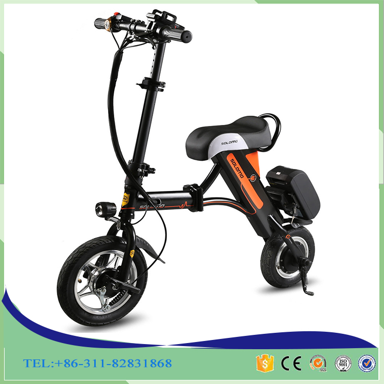 2016 portable 36v electric folding bike / electric bicycle / ebike
