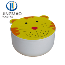 Lovely Design Animal Shape Small Size Plastic Lunch Box For Kids food box plastic