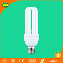 NINGBO FACTORY pure white U-shape 20W energy saver circuit matched mini cfl ups cfl bulbs