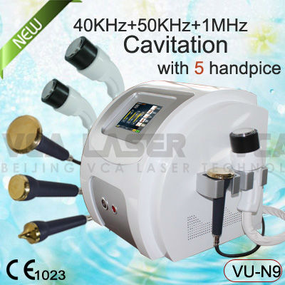 5 heads fast weight loss/ultrasonic cavitation/best cellulite removal machine