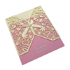Wedding Laser cut Invitation Gatefold Card