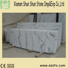 Natural stone popular white marble from china