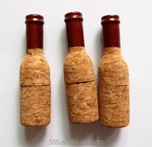 8gb wholesale customized wooden wine cork usb flash drive, wooden bottle cork usb drive, Wood cork usb