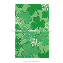 St. Patrick's Day table cover waterproof easy clean pe / peva tablecloth