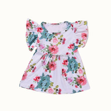 2017 Handmade Baby Dress Fashion Birthday Dress For Baby Girl 2-5 Year Old