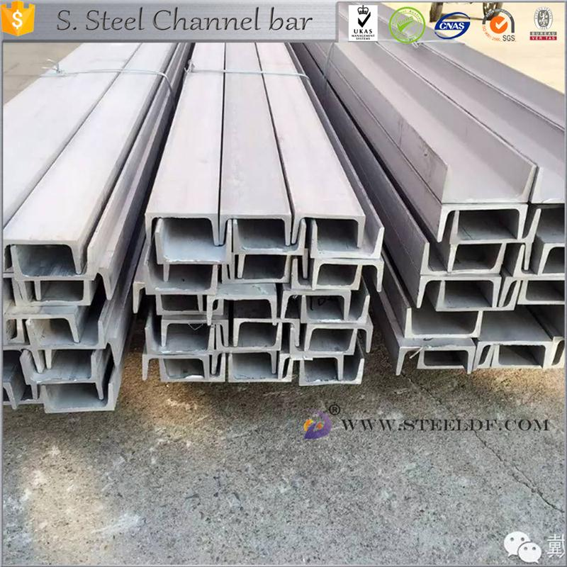 Hot selling 302 stainless steel channel steel with low price