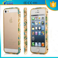 China distinctive national feature aluminum light makeup phone case for iPhone 5s