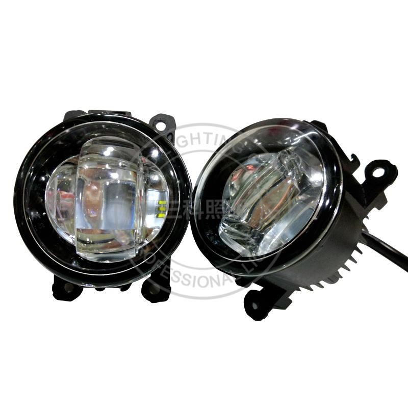 corolla fielder fog lamp daytime led fog amber light round 4inch