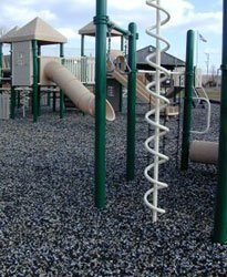 Rubber Mulch For Children Play Ground