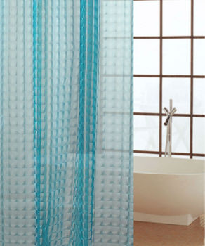 beautiful double colored 84 inch shower curtain