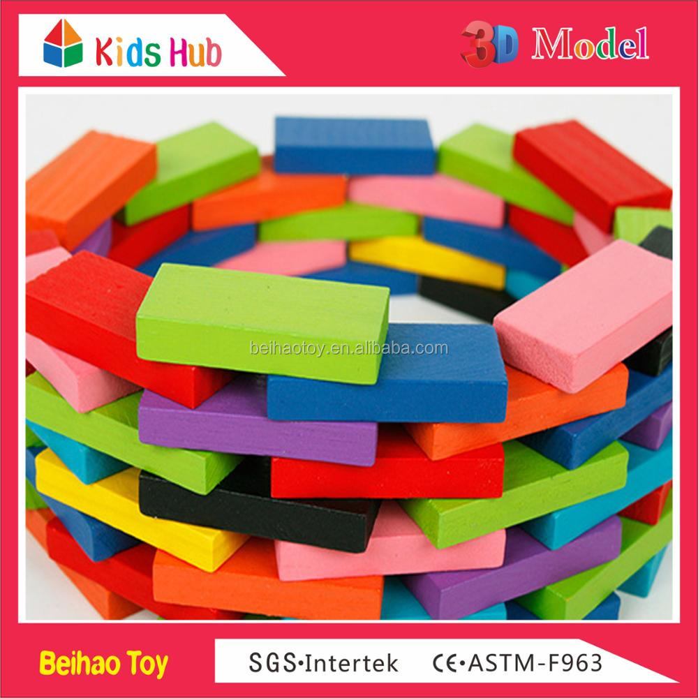 New colorful kids toy intelligence 360PCS domino game for sale