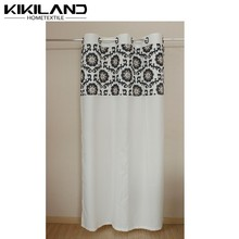 2015 New year decoration high quality india home fashions curtains