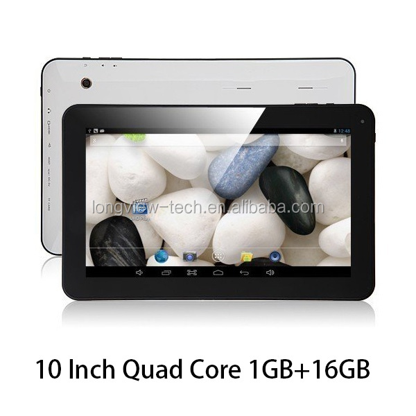 "10"" Android 4.4 A33 Quad Core Tablet PC Bundled with Keyboard"