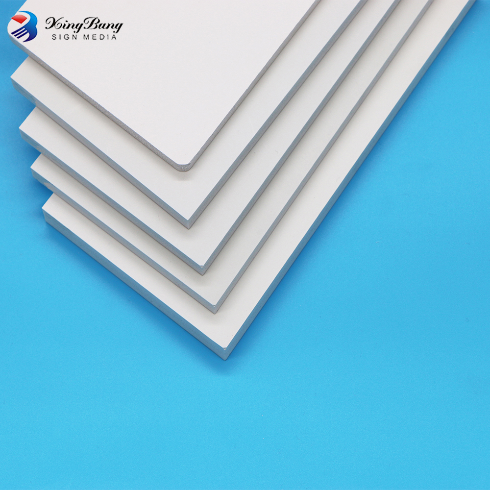 Manufacture of PVC forex foam filled plastic pvc foam sheet